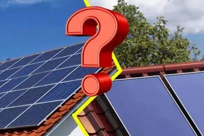 Meglio i pannelli solari o fotovoltaici ?